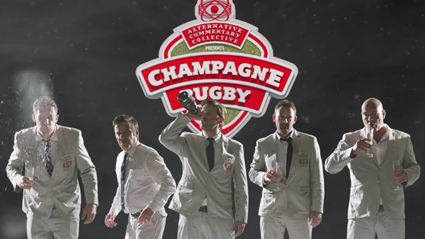 The Alternative Commentary Collective Presents – Champagne Rugby Episode 1