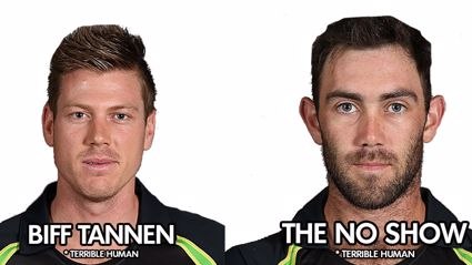 The official Australian Chappell Hadlee ODI squad nick-names