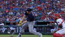 Watch this MLB player crush a half-volley cover drive