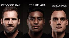 The ACC's official All Blacks team nicknames for the 3rd Test vs the Lions