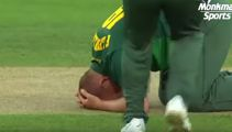 English cricket player suffers brutal blow to the head
