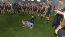 Scott Robertson's break dancing was the highlight of the Super Rugby Final