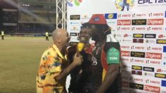 Danny Morrison went full Danny Morrison in the CPL today
