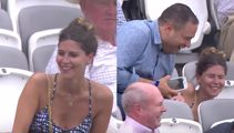 That time a cricket fan hilariously missed her seat at Lord's