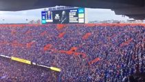 "Watch 90,000 Gators fans sing Tom Petty's ""I Won't Back Down"""