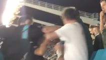 Carolina Panthers fan sucker punches an old man