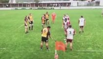 """Rugby commentator drops """"look at this big c*#%"""" during Heartland game"""
