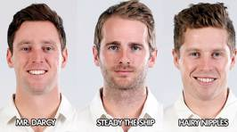 The official Blackcaps team nicknames for 1st Test vs West Indies