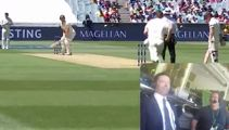 Watch Hugh Jackman commentating the Boxing Day Ashes Test