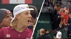 That time ASB Classic player Denis Shapovalov absolutely smoked an umpire in the face