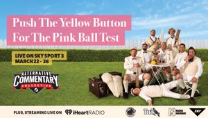 The ACC joins Sky Sport's Pink Ball Test coverage