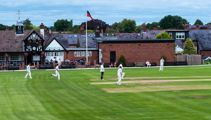 Club cricket player denied century in a horrific unsportsmanlike act by bowler