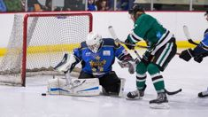Thunder and Admirals clash in an intense NZIHL semifinal