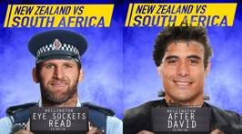 The ACC's official ABs team nicknames vs South Africa