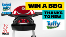 Win a Twin Grill BBQ, thanks to Tuffy!