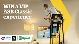 Love Tennis? Win a trip to the 2019 ASB Classic Final
