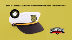 Win a Limited Edition Mammoth Steady The Ship hat