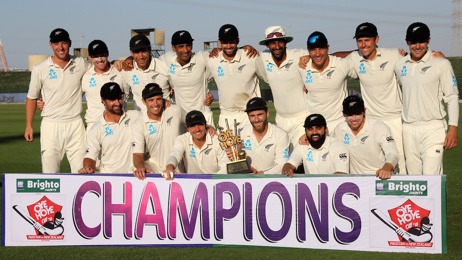 Black Caps claim a famous test series victory over Pakistan