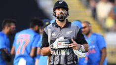 Match officials should have overturned controversial Daryl Mitchell's dismissal in Twenty20 clash against India