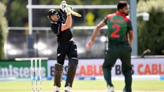 Martin Guptill was robbed of back to back to back ODI 100s
