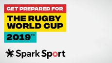 Get prepared for the Rugby World Cup 2019™ with Spark Sport
