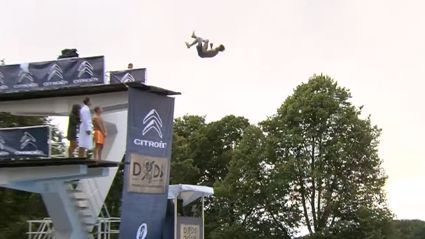 "Introducing your new favourite sport ""Death Diving"""