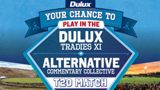 Your chance to play in the Dulux Tradies XI