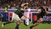 Watch this incredible 3D footage of George Bridge's try against South Africa
