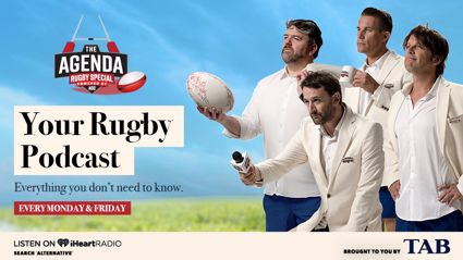 The Agenda - Rugby Special: Foreplay & Man Love