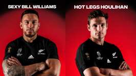 The ACC's official All Blacks RWC team nicknames vs Ireland