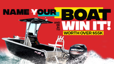 Name Our Boat and be in to win it!