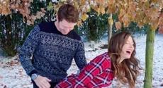 Scott Dixon posts very interesting photo with his wife