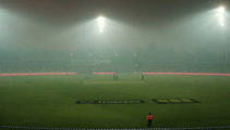 "Cricket match abandoned due to ""unprecedented"" conditions"