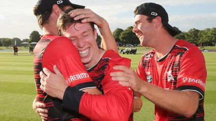Six sixes in an over! Canterbury batsman makes history