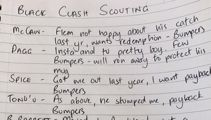 Luke Ronchi Donkey's hilarious Black Clash scouting report