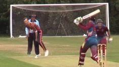 Is this the unluckiest delivery ever bowled?