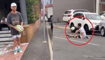 Quade Cooper goes viral with hilarious rugby stunt video