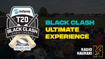 Win the Black Clash Ultimate Experience 2021