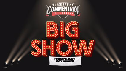 The Friday Big Show #1 - Paddy Gower, Taranaki Hardcore & WAP